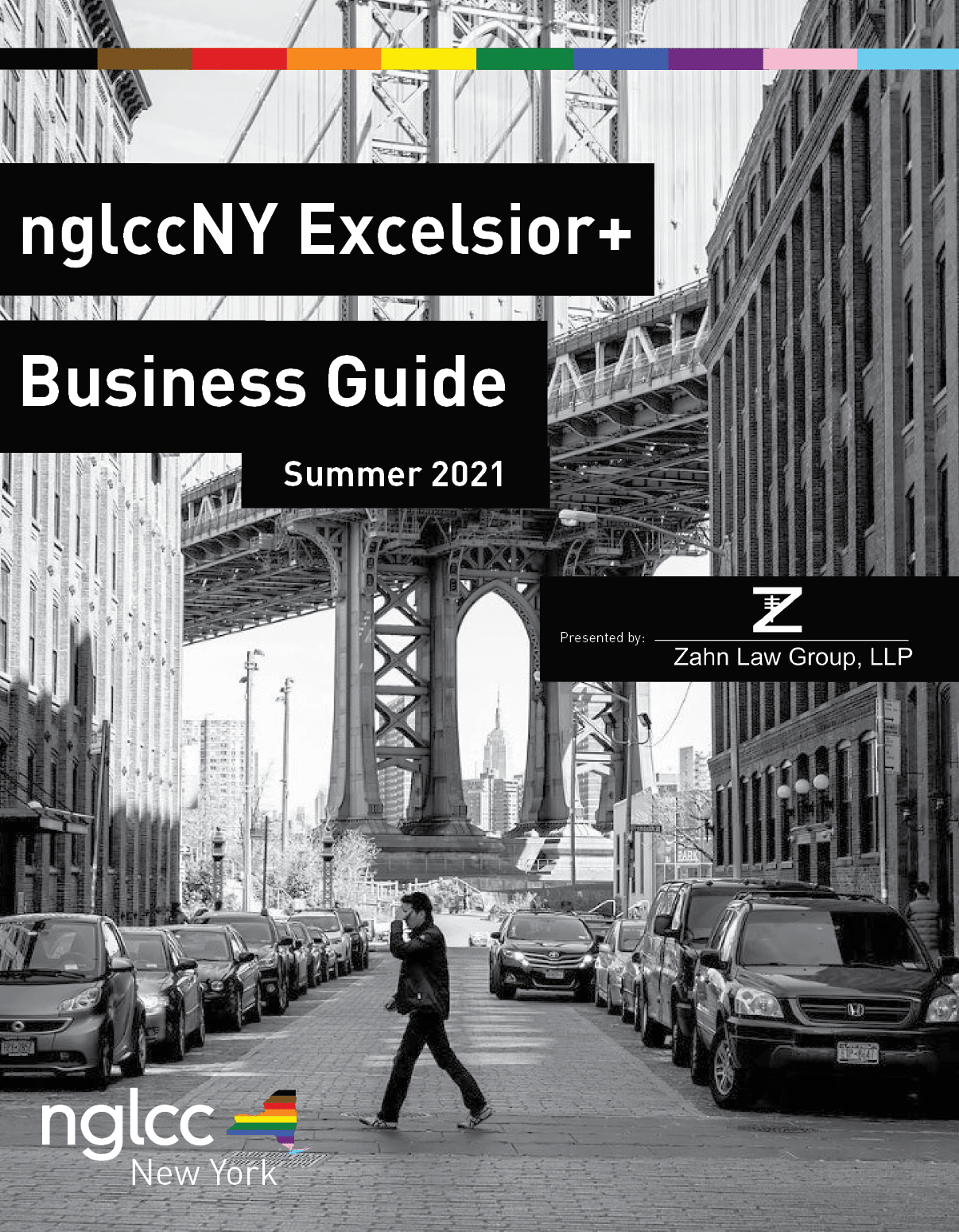 Bari Zahn Features in nglccNY Excelsior+ Business Guide for 2021, Zahn Law Media Portal